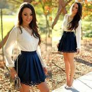 Милое платье в деловом стиле