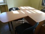 стол директорский с тумбой