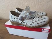 Туфли кожаные женские Rieker Antistress Германия