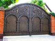 Металлические ворота,  металлические вороты,  ворота распашные металличе