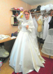 Свадебное платье НОВОЕ!