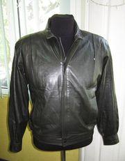 Стильная кожаная мужская куртка BAZAAR 54 LEATHER. Лот 160