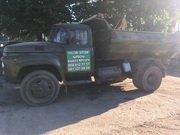 Вывезу мусор,  старую мебель грузовиками Зил,  Камаз с нарощен. бортами. Экскаватор JCB-3CX
