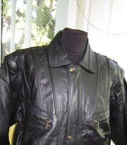 Большая кожаная мужская куртка-трансформер ECHTES LEDER. Лот 281