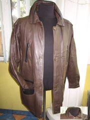 Большая кожаная мужская куртка SMOOTH City Collection. Лот 280