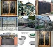 Балконы. Ограждения. Заборы. Решетки. Ворота. ЖБИ. Навесы.