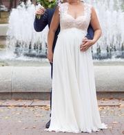 Счастливое свадебное платье не венчанное