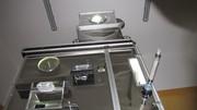 Установка-дозатор для производства курток пуховиков и одеял.