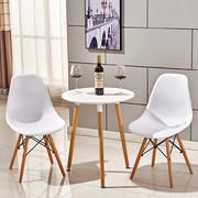 Стол обеденный Нолас,  дерево,  бук,  диаметр 80 см,  цвет белый
