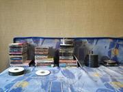 DVD диски. Музыка,  игры,  фильмы,  аниме,  программы