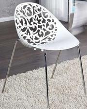 Пластиковый стул Миа,  белый,  штабелируемый