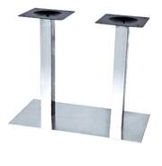 Опора для стола Днестр,  металл,  нержавеющая сталь,  высота 72 см