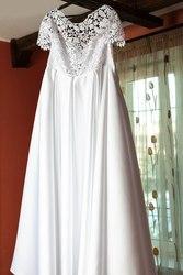 Замечательное свадебное платье