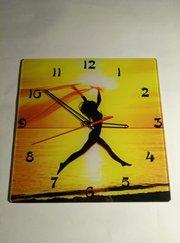 Часы настенные,  стеклянные!!!