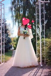 Продам нежное свадебное платье Zara.