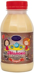 Молоко цельное сгущенное 8, 5% со вкусом ТРЮФЕЛЬ,  370 гр.экспорт