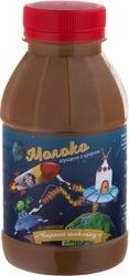 Молоко сгущенное со вкусом ЧЕРНЫЙ ШОКОЛАД пэт/бут.370 гр,  экспорт