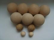Бусины из дерева,  деревянные шарики и кольца,  деревянные элементы,