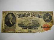 Продам Два доллара США 1917г